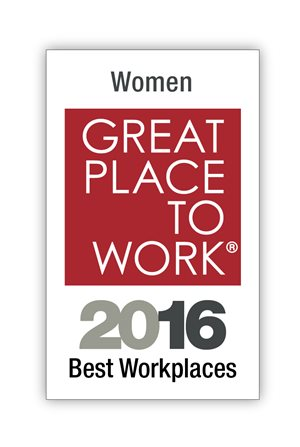 2016 Top 100 of the Best Workplaces for Women by  Great Place to Work® and Fortune