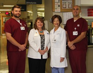 2013 LMH Blood Bank Earns AABB Re-accreditation