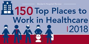 LMHS Identified as Top Healthcare Workplace