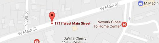1717West Main Street Maps Image